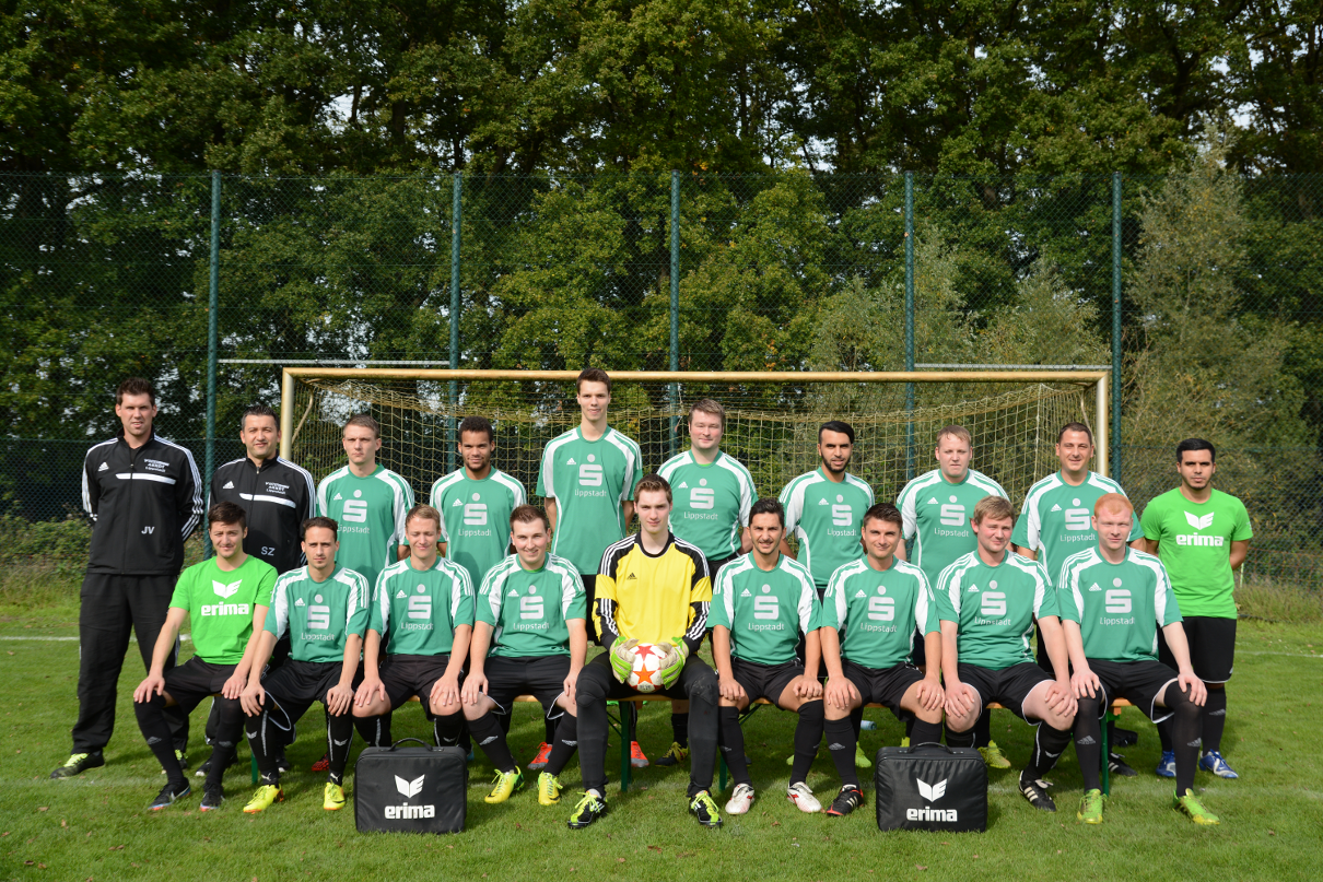 1. Mannschaft Saison 14-15 Homepage