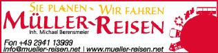 Sponsor - Müller Reisen