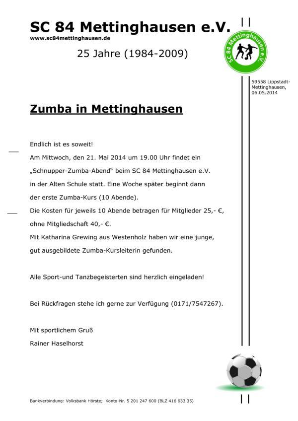 K800_Zumba Anschreiben
