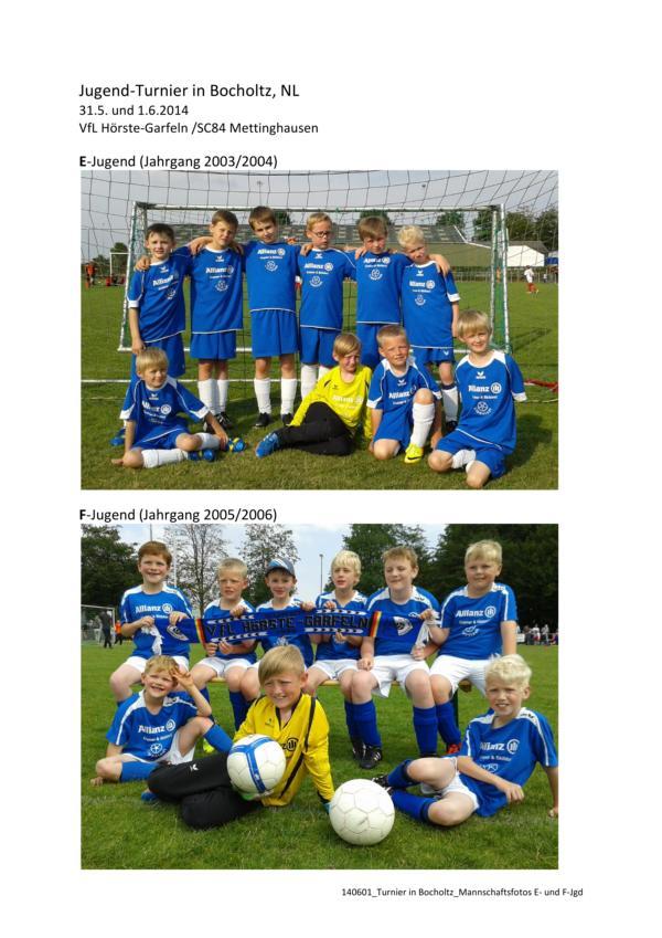 Turnier in Bocholtz_Mannschaftsfotos E- und F-Jgd
