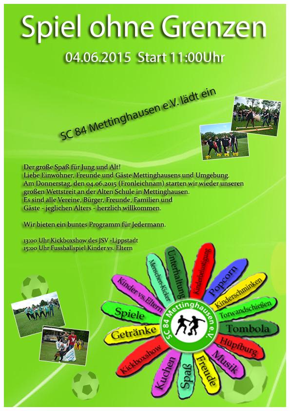 Einladung Spiel ohne Grenzen 2015
